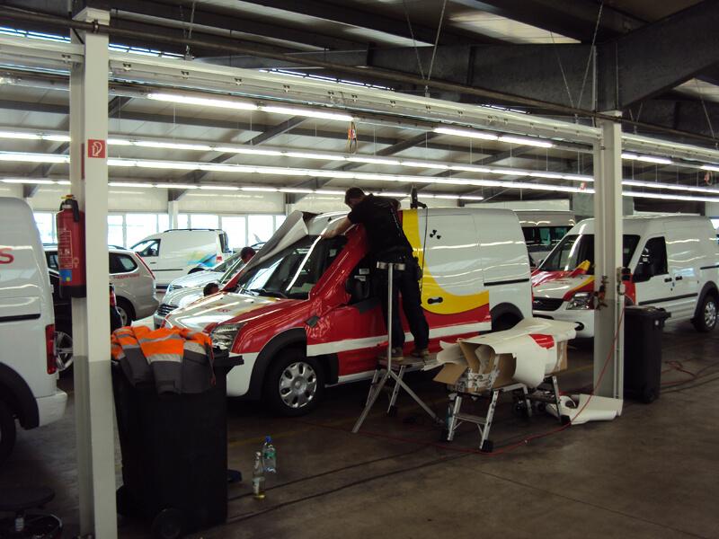 Fahrzeugbeschriftung Referenz 21